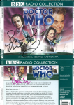 Doctor Who, Death Comes to Time,  (COVER ONLY) signed by Stephen Fry, Sylvester McCoy  1331